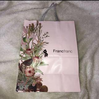 フランフラン(Francfranc)のFrancfranc ショッパー 紙袋 プレゼント袋(ショップ袋)