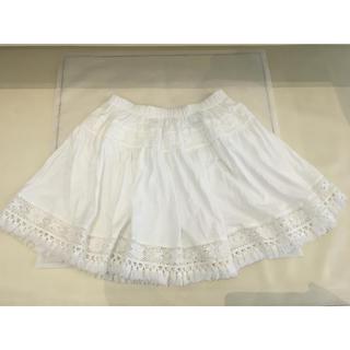 ドルチェアンドガッバーナ(DOLCE&GABBANA)のドルチェ&ガッパーナ  白スカート(スカート)