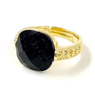 【宇宙の海】紫金石リング【ゴールド】(リング(指輪))