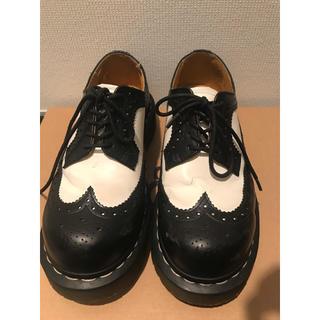 ドクターマーチン(Dr.Martens)のドクターマーチン 5アイ ブローグシューズ ベックスソール(ローファー/革靴)