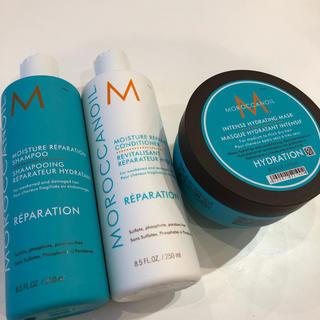 モロッカンオイル(Moroccan oil)のMOROCCANOIL モイスチャーSH&TR&マスク(シャンプー/コンディショナーセット)