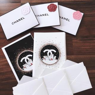 シャネル(CHANEL)のCHANELメッセージカードセット(カード/レター/ラッピング)