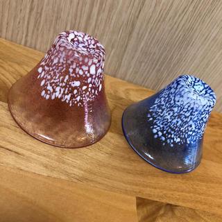 トウヨウササキガラス(東洋佐々木ガラス)の招福杯 富士山(グラス/カップ)