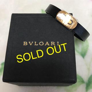 ブルガリ(BVLGARI)のBVLGARIブレスレット レザー (ブレスレット/バングル)