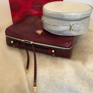 エスティローダー(Estee Lauder)のエスティローダー クリスマス コフレ 新品ポーチ 化粧ケース トラベル ケース (メイクボックス)
