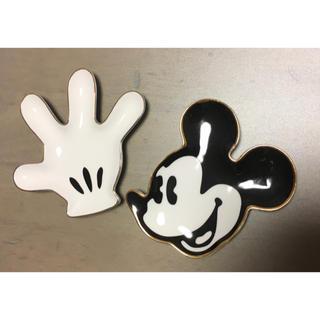 フランフラン(Francfranc)のFrancfranc ディズニー ミッキーマウスアイコンプレート 小物トレー(キャラクターグッズ)
