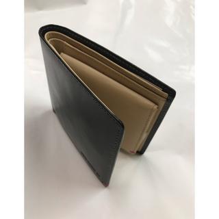 モノコムサ   折り財布 本革製 新品未使用(折り財布)
