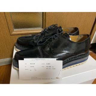 アンダーカバー(UNDERCOVER)の週末限定値下 アンダーカバー シャークソール革靴 黒 M(ドレス/ビジネス)