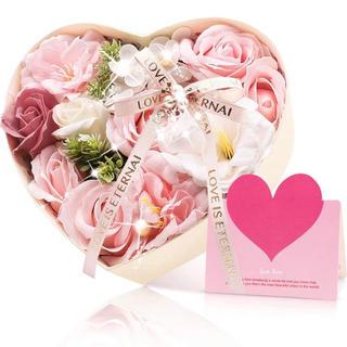 母の日ギフト ソープフラワー プレゼント 造花 花束 花 バラ型(その他)