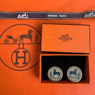 Hermes - HERMES  イヤリング コロゾホース馬ゴールド ヴィンテージエルメス