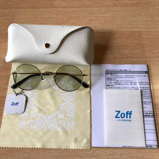 Zoff - zoff × takashi kumagai ゾフ ラウンド サングラス