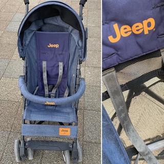 Jeep - 最終価格 jeep バギー ベビーカー トイザラス限定 デニム