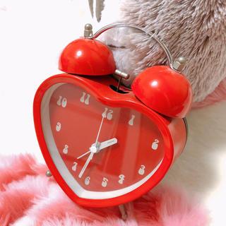 フランフラン(Francfranc)のハート型インテリア置時計(置時計)