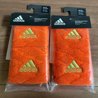 アディダス(adidas)のadidas リストバンド 2セット(バングル/リストバンド)