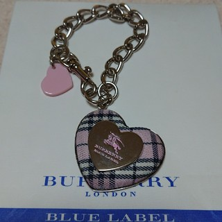 バーバリーブルーレーベル(BURBERRY BLUE LABEL)の未使用 バーバリー ブルーレーベル キーホルダー(キーホルダー)