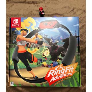 ニンテンドースイッチ(Nintendo Switch)のRingFit Adventure リングフィットアドベンチャー(家庭用ゲームソフト)