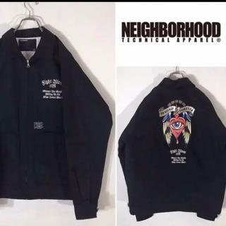 ネイバーフッド(NEIGHBORHOOD)の貴重 美品 正規品 ネイバーフッド 中綿 刺繍 SAVAGE ジャケット(ブルゾン)