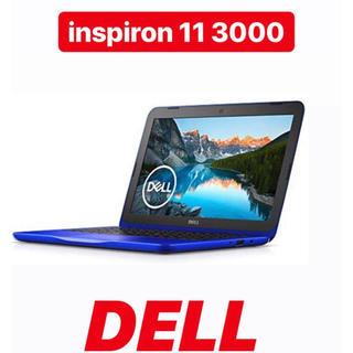デル(DELL)の新品 dell デル inspiron 11 3000 ノートパソコン パソコン(ノートPC)