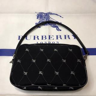 バーバリーブルーレーベル(BURBERRY BLUE LABEL)のBURBERRY ブルーレーベル ポーチ ミニバック 未使用品(ポーチ)