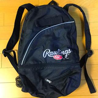 ローリングス(Rawlings)のリュック 黒色 ローリングス☆中古品(その他)