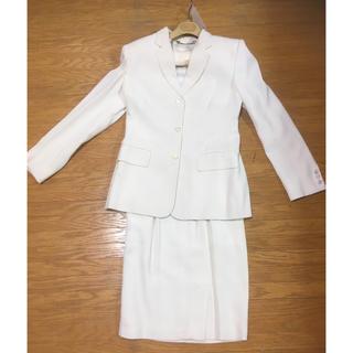グッチ(Gucci)のGUCCIグッチ☆白setupスーツ★ジャケット&スカート★正規品(スーツ)