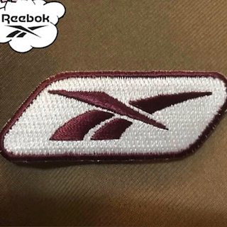 リーボック(Reebok)のワッペン アイロンワッペン Reebok リーボック 刺繍ワッペン(その他)