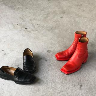Maison Martin Margiela - ion スクウェアトゥー ブーツ