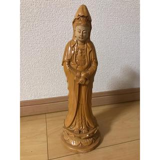 木彫 仏像 年代物(彫刻/オブジェ)