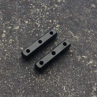 ミニ四駆 マスダンパー (スクエアx2) ブラック(模型/プラモデル)