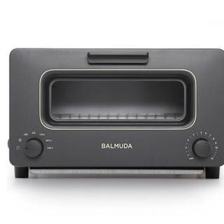 バルミューダ(BALMUDA)のBALMUDA The Toster  ブラック 新品未開封(調理機器)