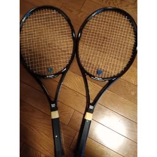 ウィルソン(wilson)の硬式テニス ラケット 2本 セット Wilson Staff Tour(ラケット)