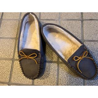 モコモコ靴(スリッポン/モカシン)