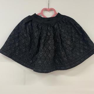 エリアーヌジジ(elianegigi)のeliane gigi スカート 黒 キルティング エリアーヌジジ(ミニスカート)