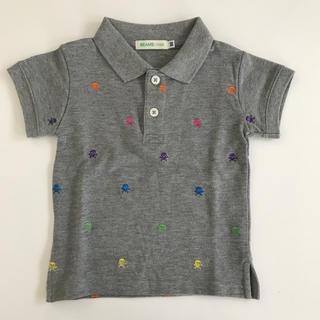 コドモビームス(こども ビームス)の【新品】BEAMS mini ビームスミニ ポロシャツ スカル 80 90(その他)