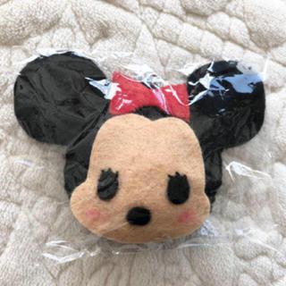 ディズニー(Disney)の★新品★ハンドメイド★ミニーマウス キーホルダー★フェルト★(キーホルダー/ストラップ)