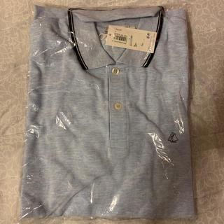 プチバトー(PETIT BATEAU)の新品 プチバトー メンズポロシャツ L(ポロシャツ)