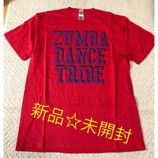 ズンバ(Zumba)の新品☆ zumba ウェア レッド(トレーニング用品)