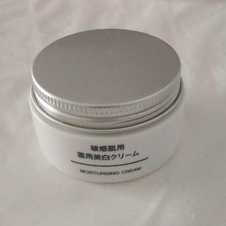 ムジルシリョウヒン(MUJI (無印良品))の無印 敏感肌用 薬用美白クリーム(美容液)