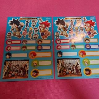 アサヒシンブンシュッパン(朝日新聞出版)のサバイバルシリーズシール(少年漫画)