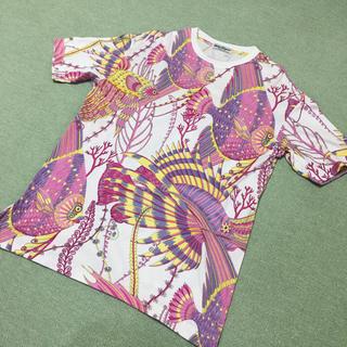 サルヴァトーレフェラガモ(Salvatore Ferragamo)のSalvatore Ferragamo サルヴァトーレ・フェラガモ フィッシュT(Tシャツ(半袖/袖なし))