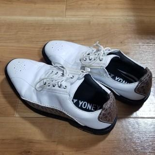 ヨネックス(YONEX)のYONEX ヨネックス ゴルフシューズ25センチ(シューズ)