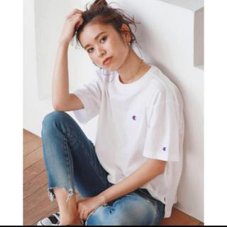 アングリッド(Ungrid)の別注チャンピオンショートTシャツ(Tシャツ(半袖/袖なし))