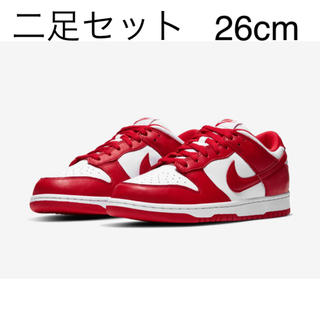 "ナイキ(NIKE)のNIKE DUNK LOW SP ""UNIVERSITY RED""(スニーカー)"