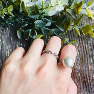 ハンドメイド リング 指輪 セット シルバー(リング)