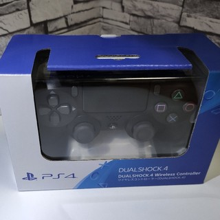 プレイステーション4(PlayStation4)のPS4 ワイヤレスコントローラー デュアルショック4  黒(家庭用ゲーム機本体)