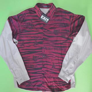 ミルクボーイ(MILKBOY)のMILKBOY ミルクボーイ  タイガーパターン シャツ EXIT (シャツ)