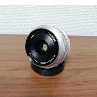 オリンパス(OLYMPUS)の【ちゃな様専用】OLYMPUS M.ZUIKO 17mm F1.8(レンズ(単焦点))