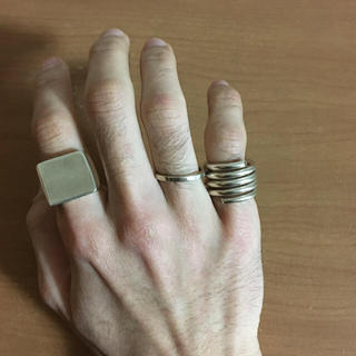 マルタンマルジェラ(Maison Martin Margiela)のヴィンテージリング(リング(指輪))