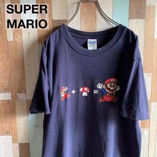 ニンテンドウ(任天堂)のUSA製 スーパーマリオ プリントTシャツ(Tシャツ/カットソー(半袖/袖なし))