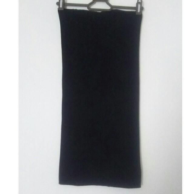 GUNZE(グンゼ)の腹巻き 黒 レディースの下着/アンダーウェア(アンダーシャツ/防寒インナー)の商品写真